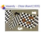 vasarely chess board 1935