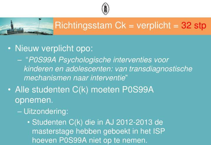 Richtingsstam