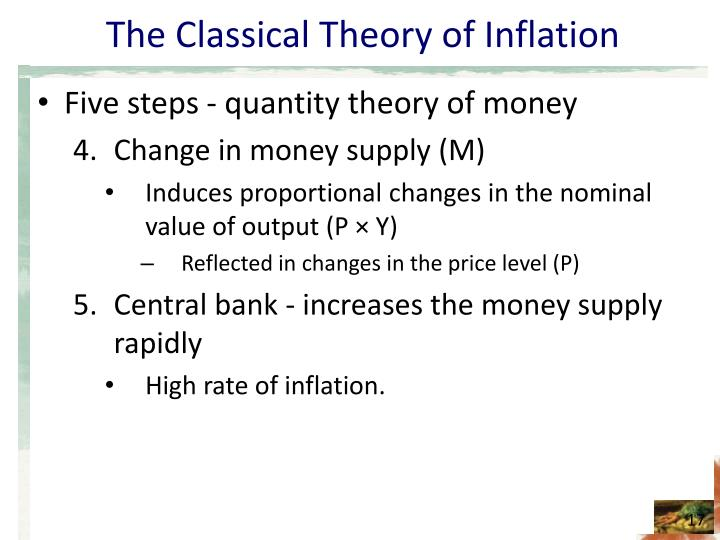 inflation and growth of production theory Examine the relationship between inflation and gdp, learn why gdp growth leads to higher prices and understand the effects of uncontrolled inflation and gdp growth.