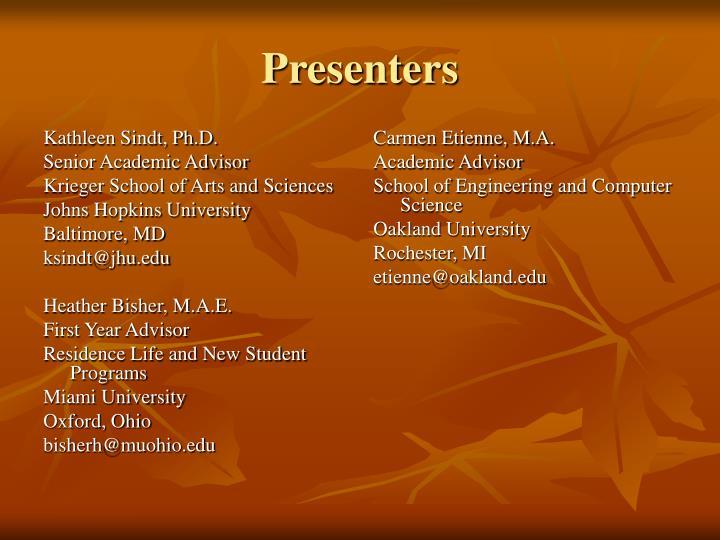 Kathleen Sindt, Ph.D.
