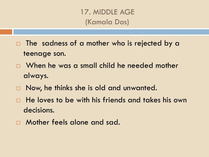 17. MIDDLE AGE