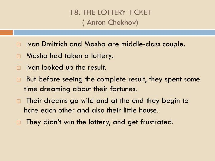 18. THE LOTTERY TICKET