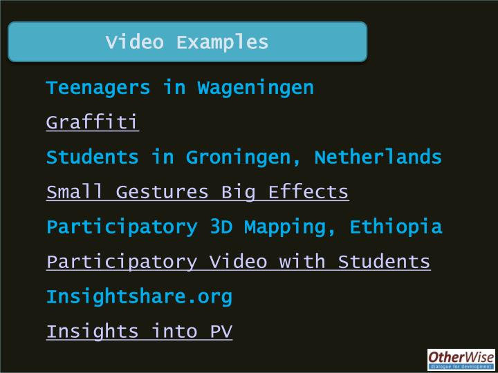 Video Examples