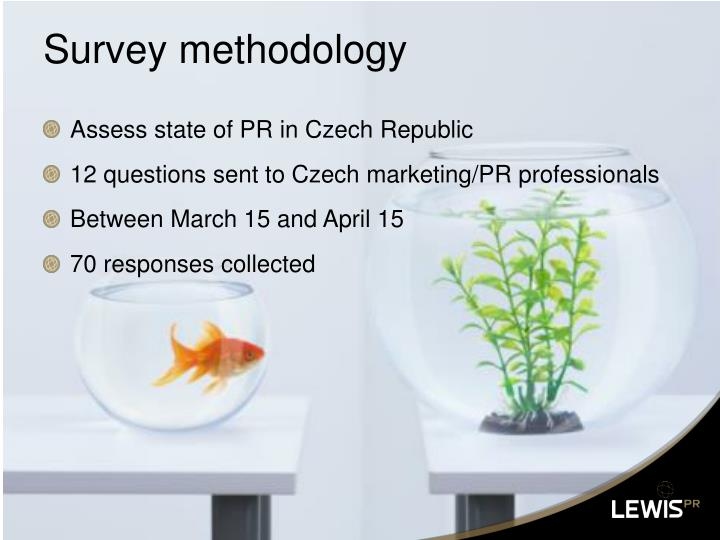 Survey methodology