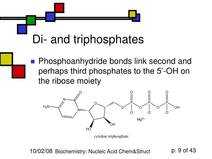 Di- and triphosphates