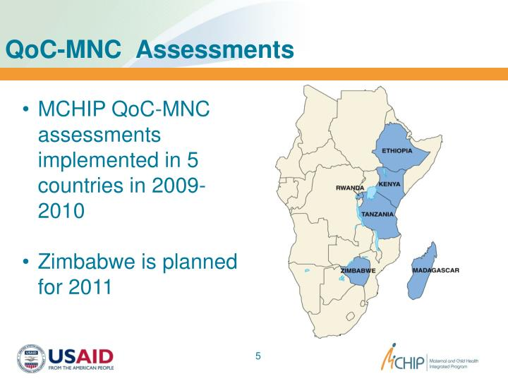 QoC-MNC  Assessments