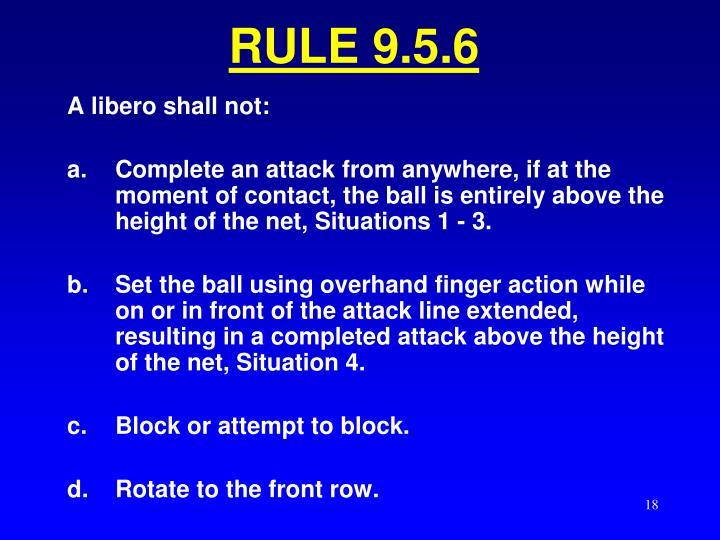 RULE 9.5.6