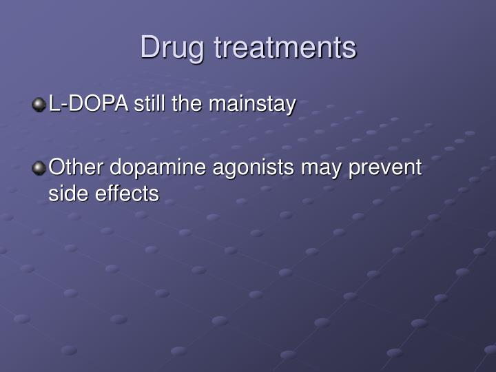 Drug treatments