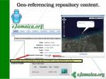 geo referencing repository content