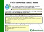 wms server for spatial items