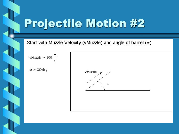 Projectile Motion #2