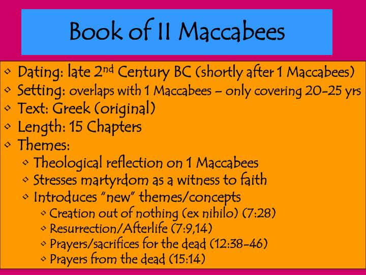 Book of II Maccabees