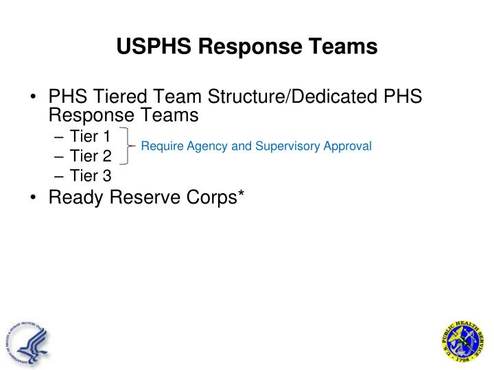 USPHS Response Teams