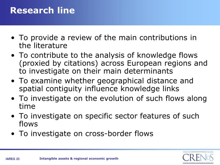 Research line