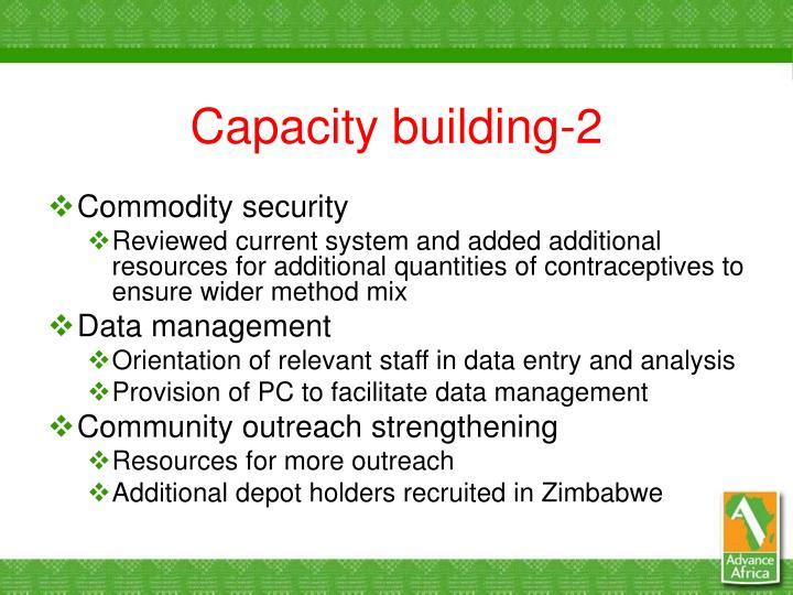 Capacity building-2