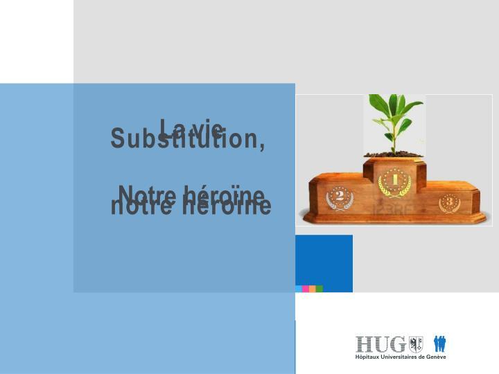 Substitution,