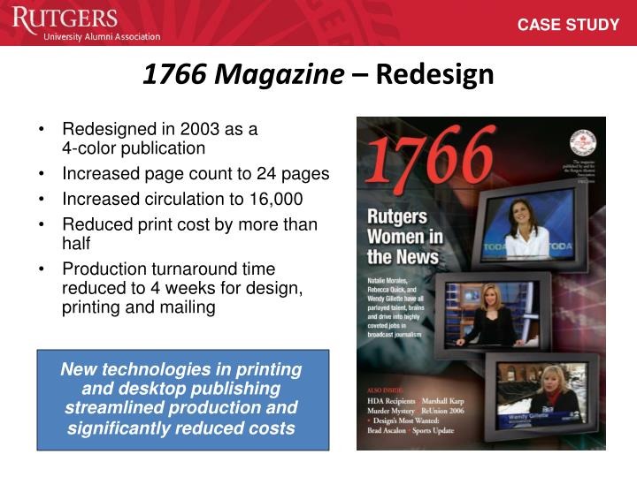 New technologies in printing