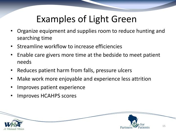 Examples of Light Green