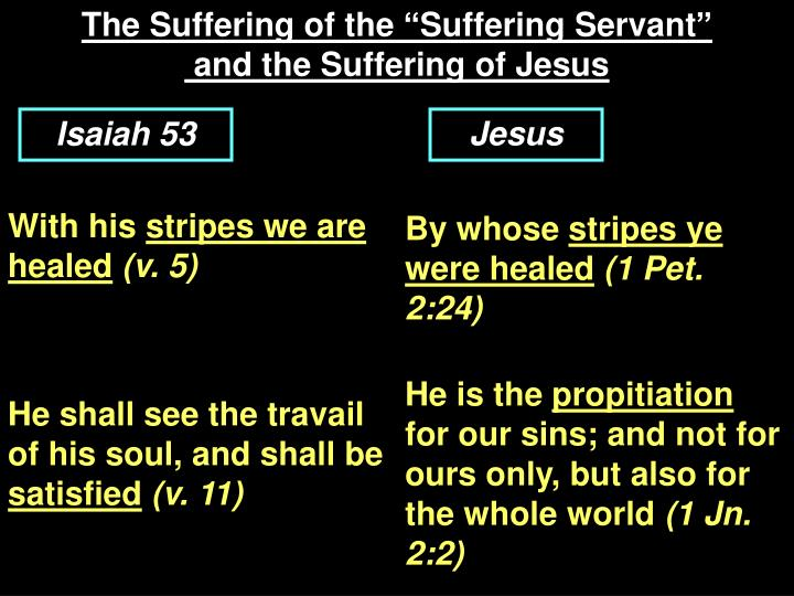 "The Suffering of the ""Suffering Servant"""