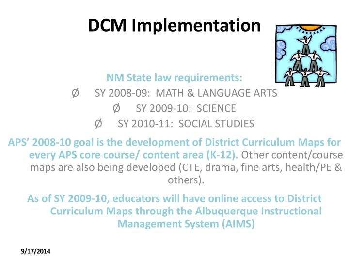 DCM Implementation