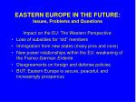 eastern europe in the future issues problems and questions1