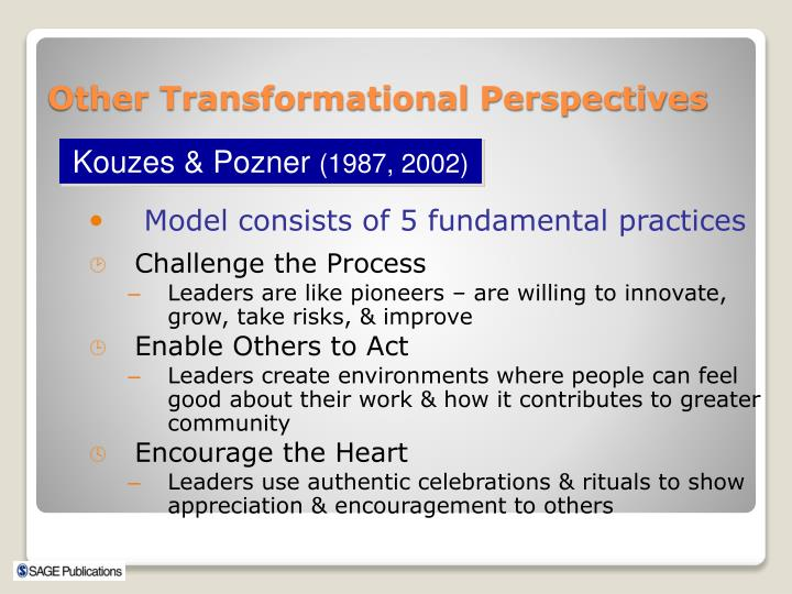 Model consists of 5 fundamental practices