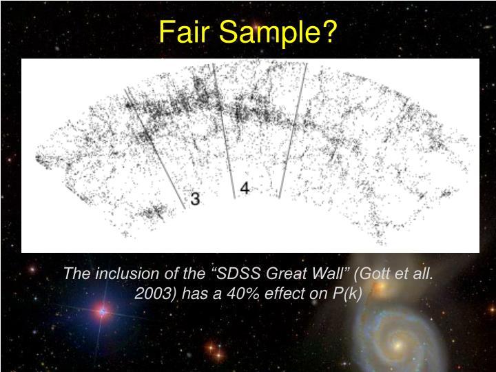 Fair Sample?