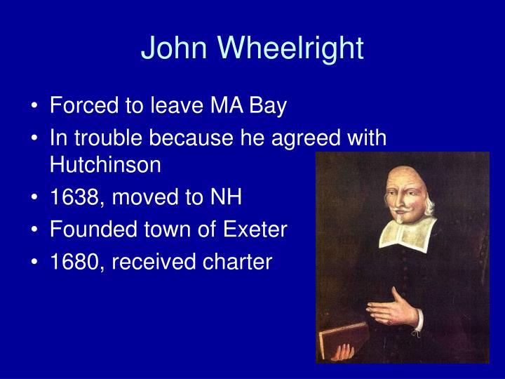 John Wheelright