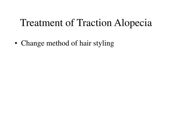 Treatment of Traction Alopecia