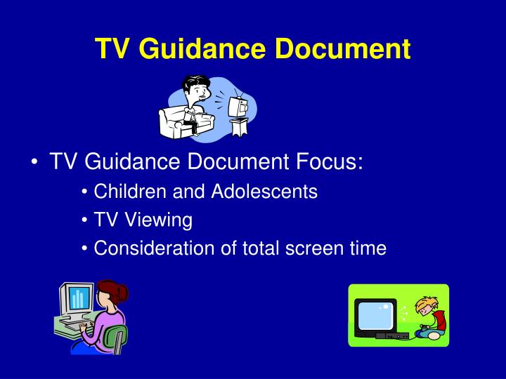 TV Guidance Document