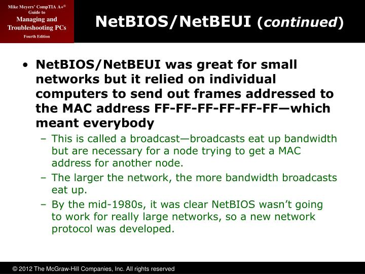 NetBIOS/NetBEUI