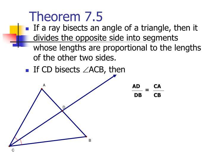 Theorem 7.5