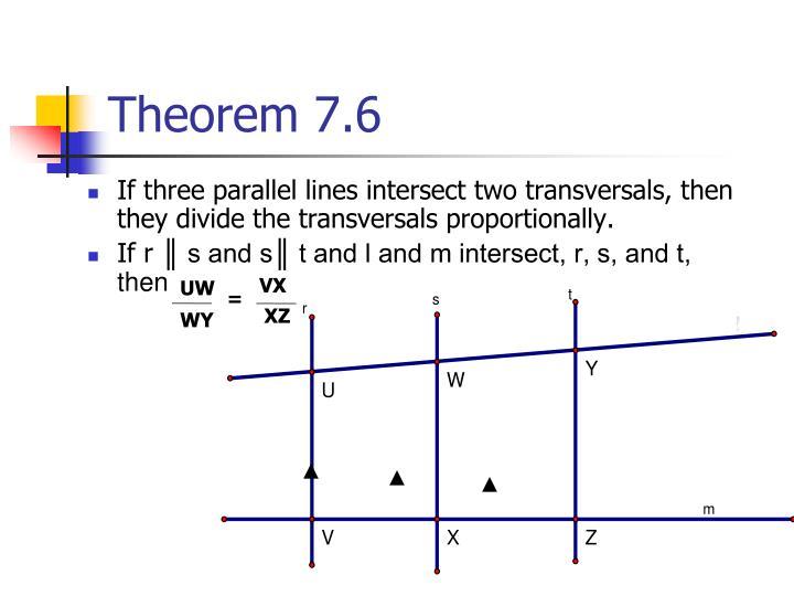 Theorem 7.6