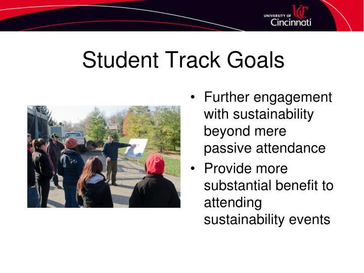 Student Track Goals