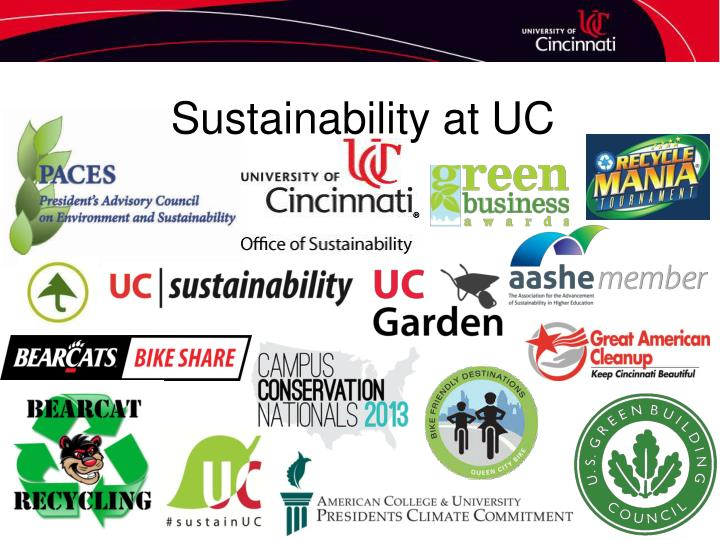 Sustainability at UC