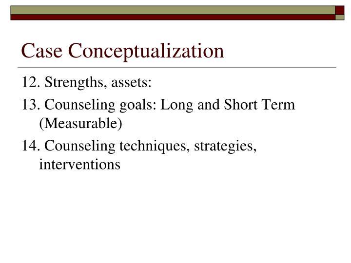 Case Conceptualization