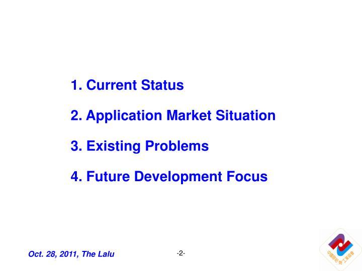 1. Current Status