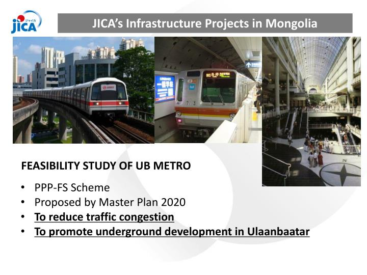 JICA's Infrastructure Projects in Mongolia
