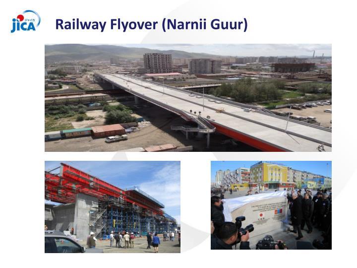 Railway Flyover (Narnii Guur)
