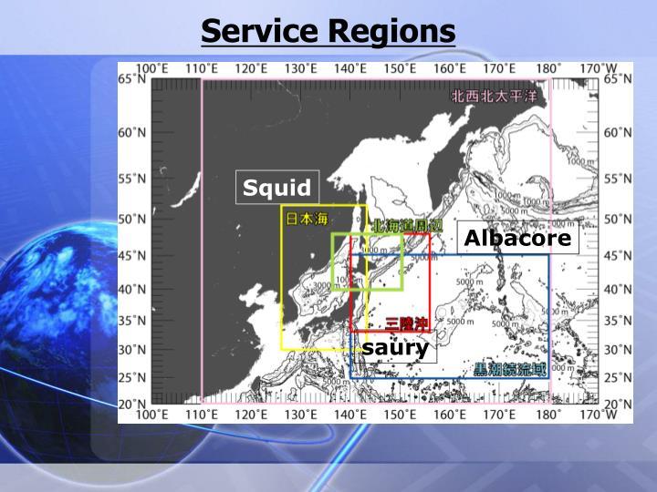 Service Regions