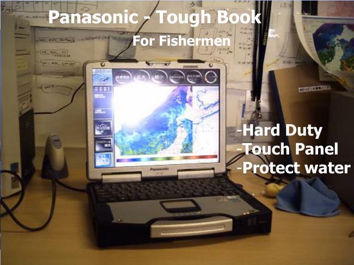 Panasonic - Tough Book