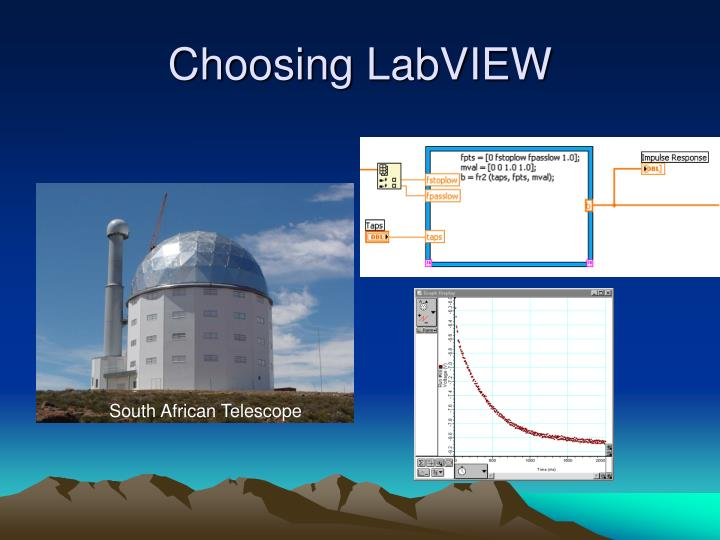 Choosing LabVIEW