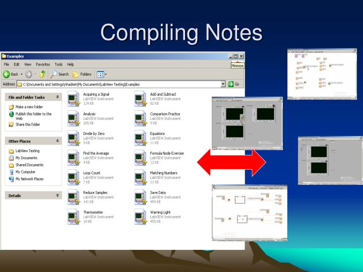Compiling Notes
