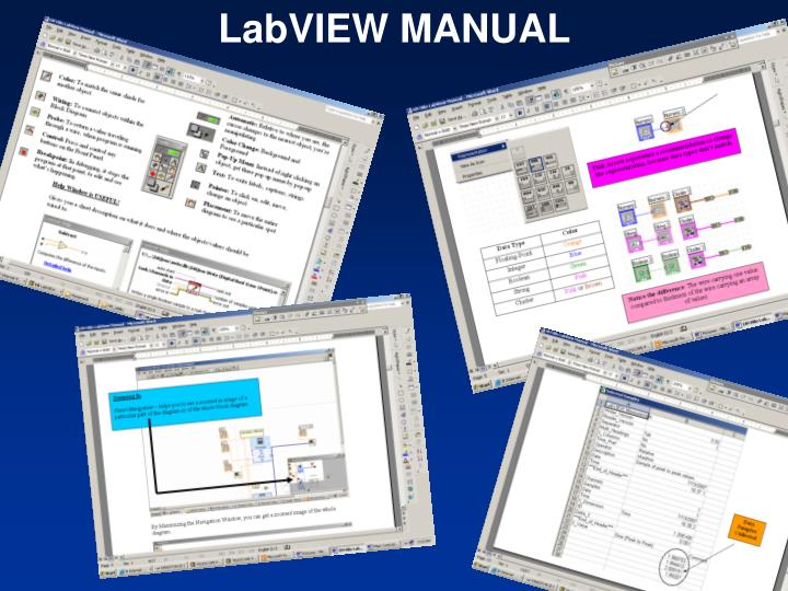 LabVIEW MANUAL
