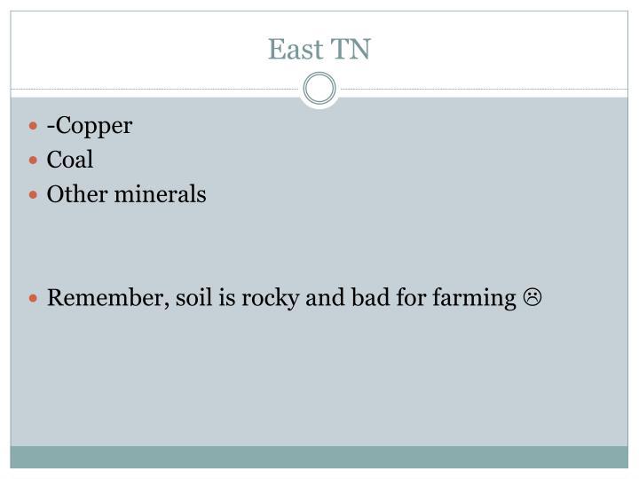 East TN