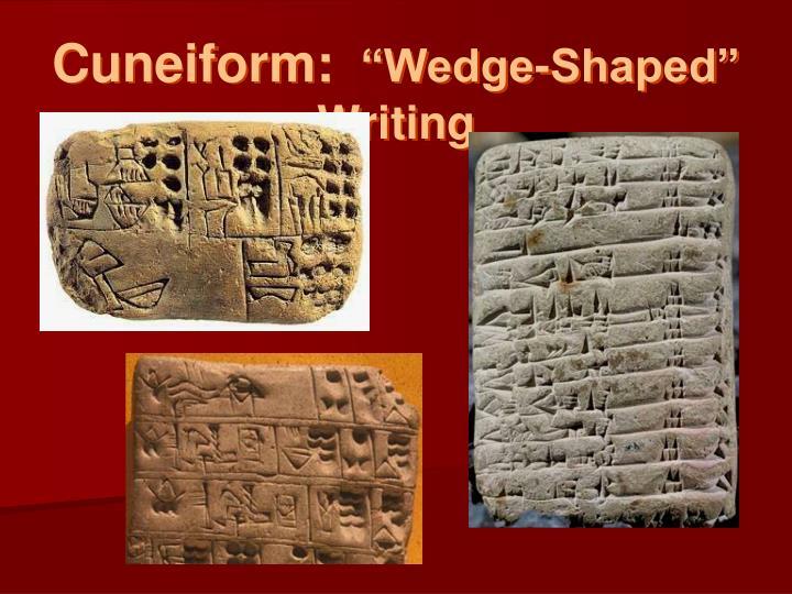 Cuneiform: