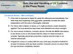 safe use and handling of uv curables in the press room2
