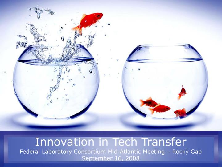 Innovation in Tech Transfer