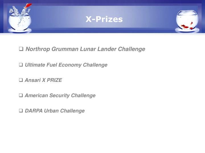 X-Prizes