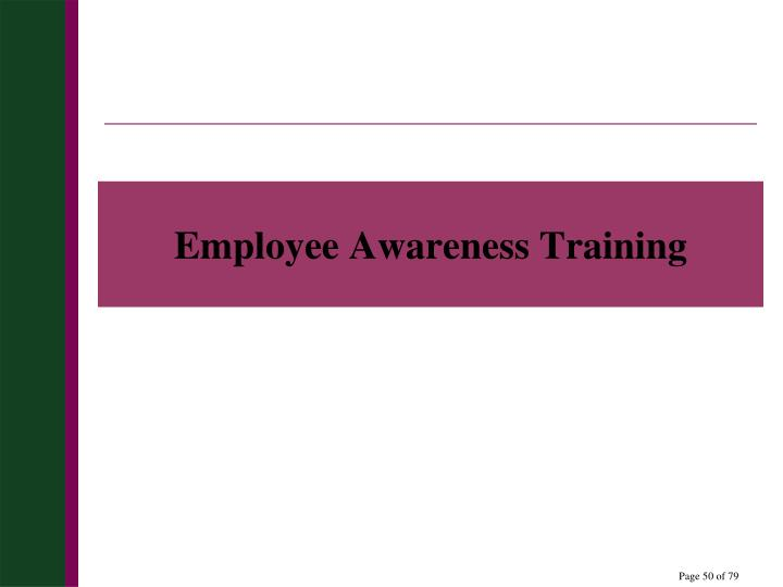 Employee Awareness Training